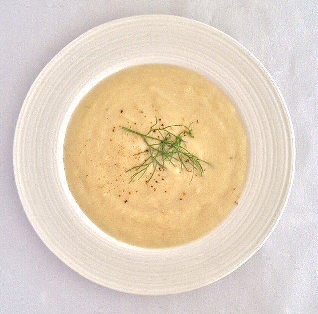 fennel and shallot soup